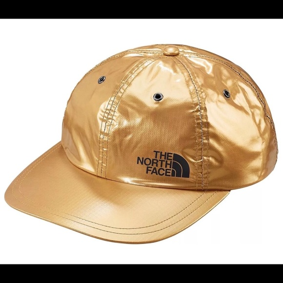 The North Face Other - Supreme The North Face Gold Metallic 6-Panel Hat